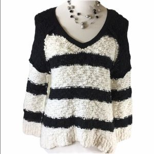Free People textured sweater